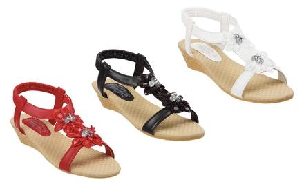 Women's Slim Fit Wedge Sandals