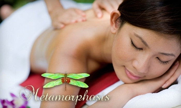 Metamorphosis Spa - Downtown Walnut Creek: $45 for a 50-Minute Swedish-Blend Massage at Metamorphosis in Walnut Creek ($90 Value)
