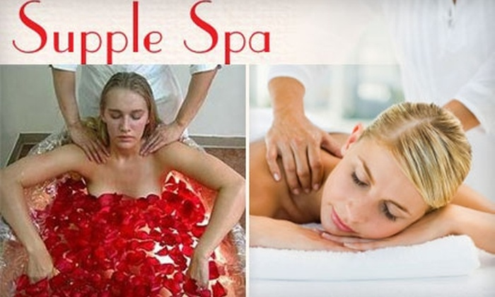 Supple Spa - Flatiron District: $70 for 60-Minute Pink Rub Body Treatment at Supple Spa ($140 Value)