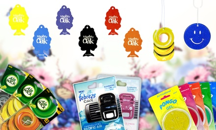 One, Two, Three or FourPack of Car Air Fresheners in Choice of Design