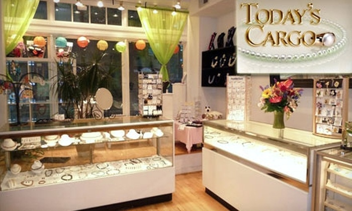 Today's Cargo - Old Town: $25 for $50 Worth of Jewelry, Gems, Accessories, and More at Today's Cargo in Alexandria