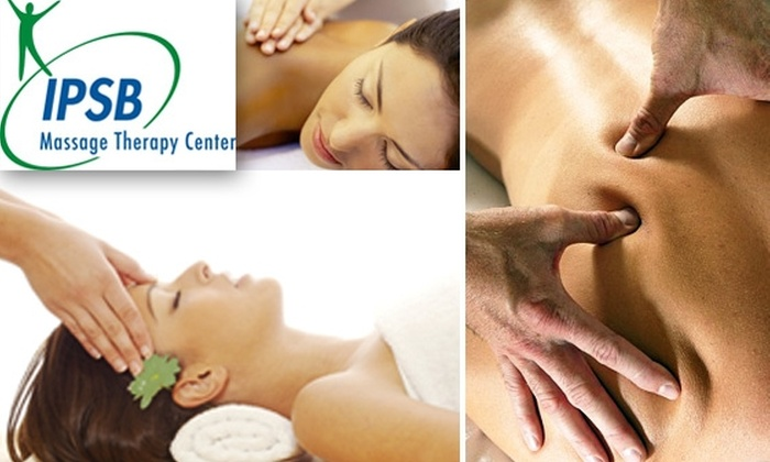 IPSB - Pacific Beach: $45 for a One-Hour Professional Massage at IPSB Massage Therapy Center