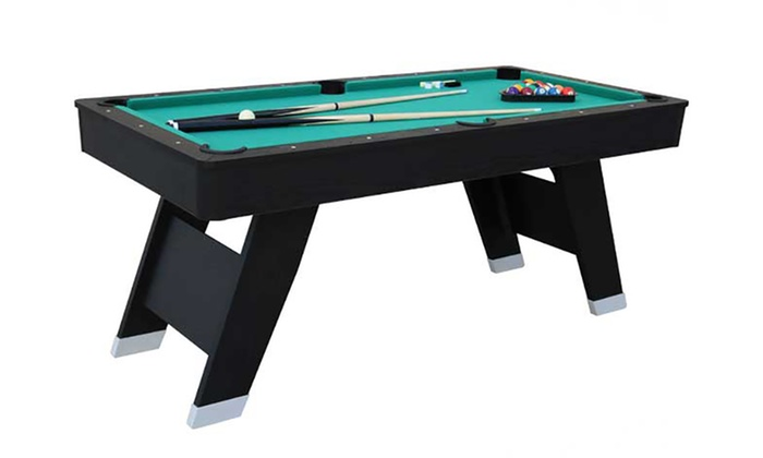 Groupon Goods Global GmbH: 6ft Pool Table in Choice of Design With Free Delivery