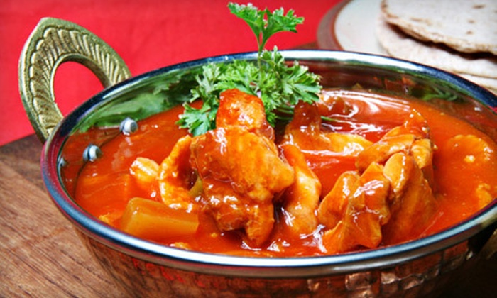 Maza Restaurant - Metro West: Afghan and Indian Cuisine for Two or Four at Maza Restaurant (Half Off)
