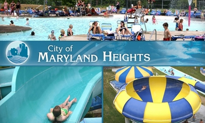 Maryland Heights Aquaport - Maryland Heights: $8 for One Non-Resident Adult Admission to Maryland Heights Aquaport ($15 Value). Choose a Children's Ticket for $5.