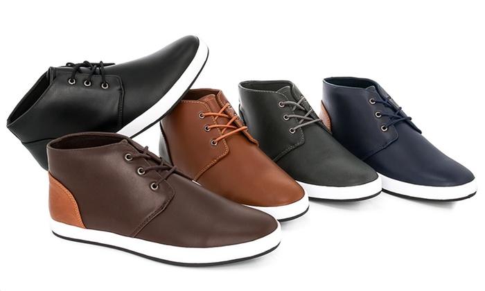 Adolfo Edward Hi Top Sneakers