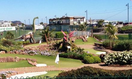 12-Hole Mini Golf Game with Slushies for Up to Four at Jurassic Adventure Golf (Up to 51% Off)