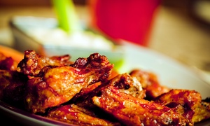 JR Crickets Northlake: Wings and More at JR Crickets Northlake (Up to 43% Off).  Two Options Available.