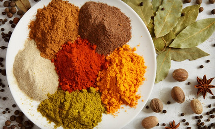 Indigo Spices: $15 for $30 Worth of All-Natural Herbs, Tea, and Supplements from Indigo Spices