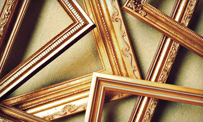 Grove Pointe Frame & Art - The Waterfront: $39 for $100 Worth of Custom Framing Services at Grove Pointe Frame & Art in Jersey City