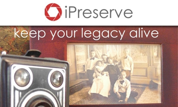iPreserve - New York City: $25 for $100 Toward iPreserve Digital Preservation Services
