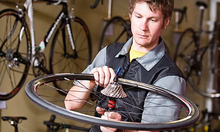 B & J Bicycle Shop, Inc. - Cresthaven: In-Store or At-Home Bike Tune-Up or Merchandise at B & J Bicycle Shop, Inc. in Pompano Beach