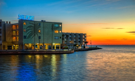 Stay at Sailport Waterfront Suites in Tampa, FL, with Dates into December