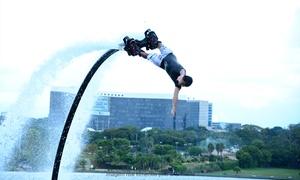 Flyboard Brasília: Flyboard Brasília Lago Paranoá – Pontão do Lago Sul: aula de flyboard para 1 ou 2 pessoas