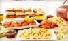62% Off an All-American Party Food Platter