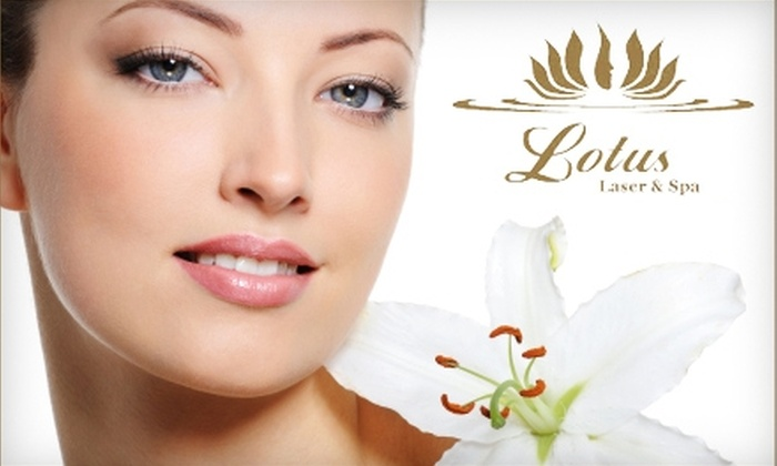 Lotus Laser & Spa - Wilburton: $149 for Six Laser Hair-Removal Treatments on a Small Area or Three Laser Hair-Removal Treatments on a Medium Area from Lotus Laser & Spa (Up to $857 Value)