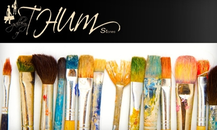 Gallery of THUM - Emerson Garfield: $37 for a Five-Hour Watercolor Class at Gallery of THUM ($75 Value)