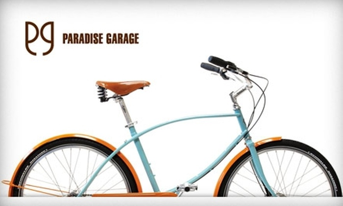 Paradise Garage - Short North: $20 for a Bicycle Tune-Up at Paradise Garage ($65 Value)