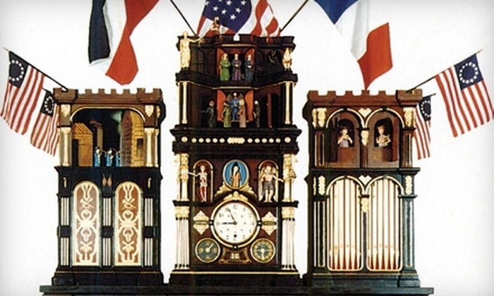 National Watch and Clock Museum - Columbia: $4 for One Adult Admission (Up to $8 Value) or $10 for Family Admission ($20 Value) to the National Watch and Clock Museum