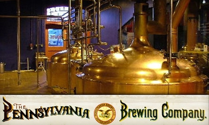 Penn Brewery - Troy Hill: $15 for $35 Worth of Authentic European Dinner Fare at Penn Brewery (or $10 for $25 Toward Lunch)
