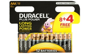 Les piles Duracell Plus Power AAA