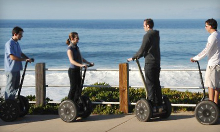 We Love Tourists - Multiple Locations: $49 for a Two-Hour Segway Tour of Downtown San Diego or La Jolla from We Love Tourists ($149 Value)