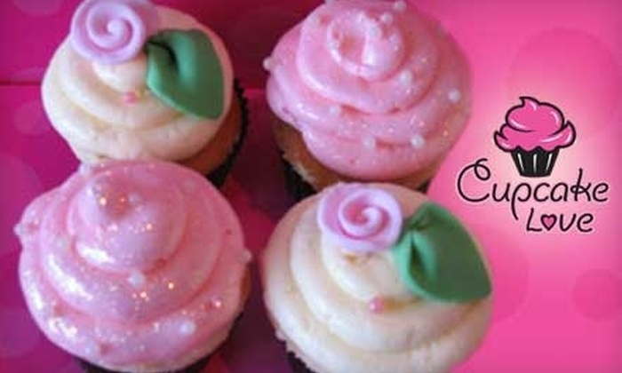Cupcake Love - Multiple Locations: $4 for $10 Worth of Cupcakes, Cookies, and Treats at Cupcake Love