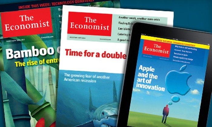 """""""The Economist"""" - Red Bank: Digital or Print Subscription to """"The Economist"""""""