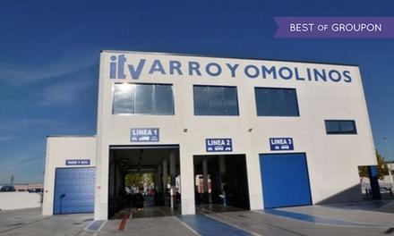 ITV con tasas incluidas para vehículos gasolina y motocicletas o vehículos diésel desde 29,95 € en Arroyomolinos