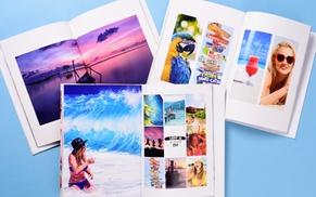 Colorland: 3x Hardcover-Fotobuch Classic A4 im Hoch- oder Querformat mit 28 bis 72 Seiten bei Colorland (bis zu 76% sparen*)