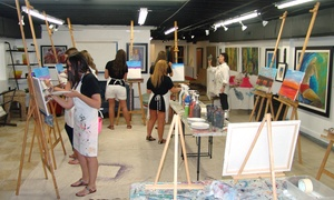 Art Village Gallery: BYOB Painting Class for One, Two, Four, Six, or Ten at Art Village Gallery (Up to 60% Off)