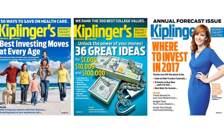 Kiplingers Personal Finance Subscription (One-Year, 12-Issues, 33% Off)