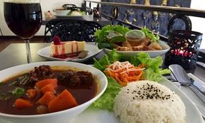 BODHIGARDEN: Menus comprenant entrée, plat, dessert et boissons pour 2 ou 4 personnes dès 29,99 € au restaurant Bodhi Garden