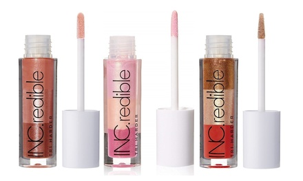 ThreePack of INC.redible Lip Gloss