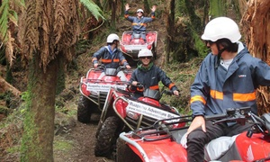 Gitaway Promotions (Local): 90-Minute Quad Bike Adventure for Two ($199) or Four People ($389) with Ruapehu Adventure Rides (Up to $620 Value)