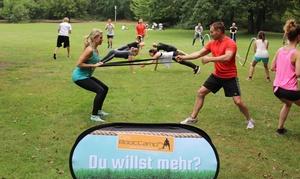 """Kevin Richter Dein Fitness Coach: 10x 60 Min. Outdoor-Training von """"Das Bootcamp"""" mit Trainer-Betreuung für 1 od. 2 bei Kevin Richter (bis zu 81% sparen*)"""