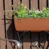 Elevated Urban Planter with Wrought-Iron Stand