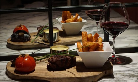 Two-Course Meal with a Glass of Wine for Two or Four at A La Turka (Up to 63% Off)