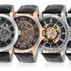 Croton Men's Automatic Skeleton Watches