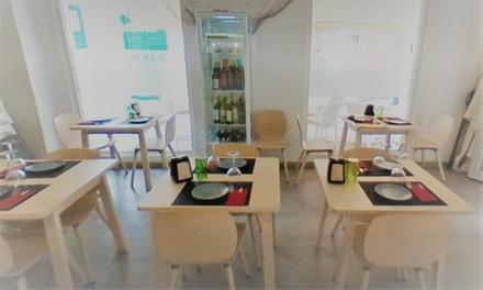 Menú con entrante, principal y bebida para 2 personas en Restaurante La Pescadería (hasta 47% de descuento)