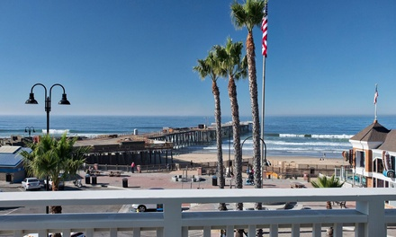 Stay at Inn at the Pier in Pismo Beach, CA. Dates into December.