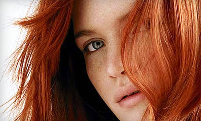 Saco Hair - Beltline: Haircut Package with Optional Full Colour or Half Highlights at Saco Hair (Up to 60% Off)