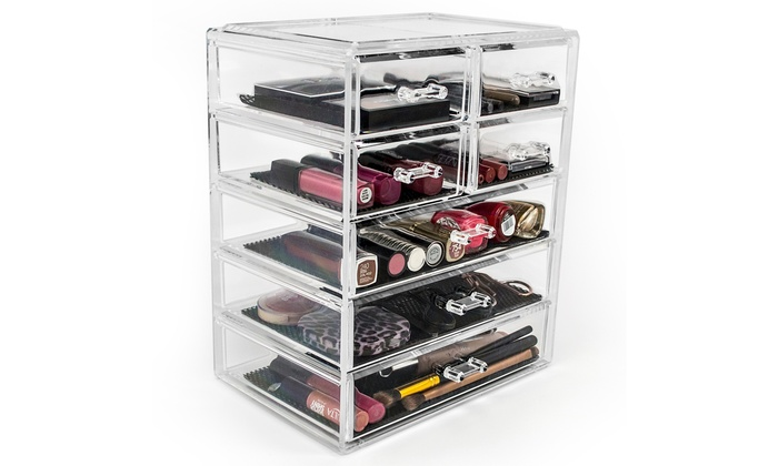 Up To 61% Off On Sorbus Makeup Organizer Set | Groupon Goods