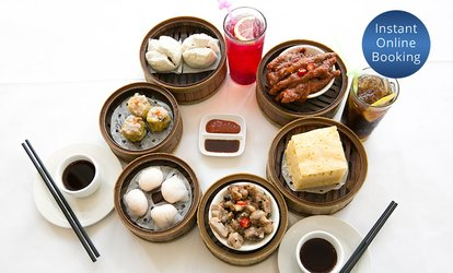 10-Dish Yum Cha Banquet for Two ($39) or 20-Dish for Four People ($75) at Suncrop Seafood Restaurant (Up to $186 Value)