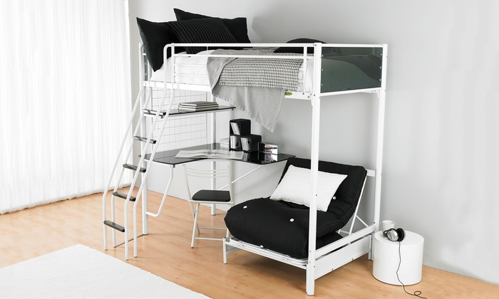 Cosmic Bunk Bed Futon And Desk