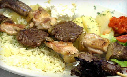 $7 for $14 Worth of Bosnian Cuisine for Two or More at Old Bridge Cafe