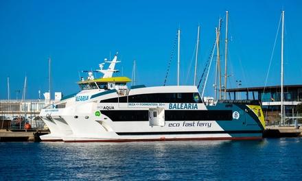 Billete de ida y vuelta Ibiza-Formentera para 1, 2, 3 o 4 personas desde 20 € con Baleària