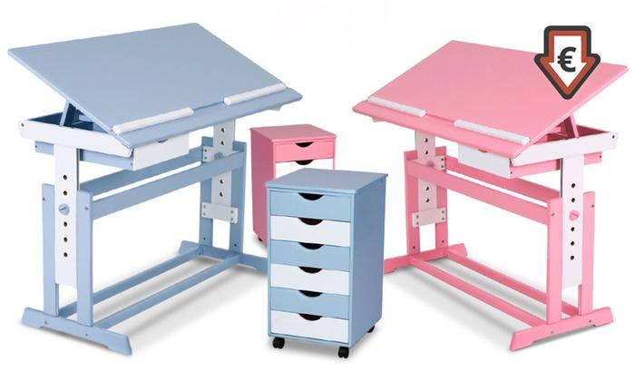 Scrivanie e cassettiere per bambini groupon goods - Scrivanie bambini design ...