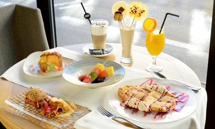 Brinner para 2 o 4 personas con bebida, zumo, café, comida y postre desde 19,95 € en Restaurante H10 Puerta de Alcalá