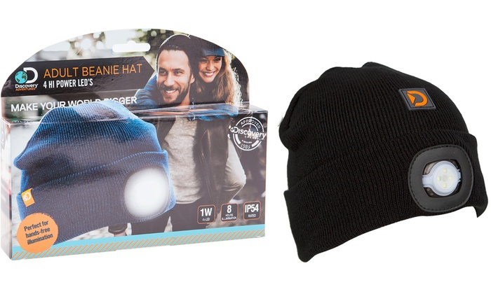 1969f14d6e8 Up To 25% Off Discovery LED Torch Beanie